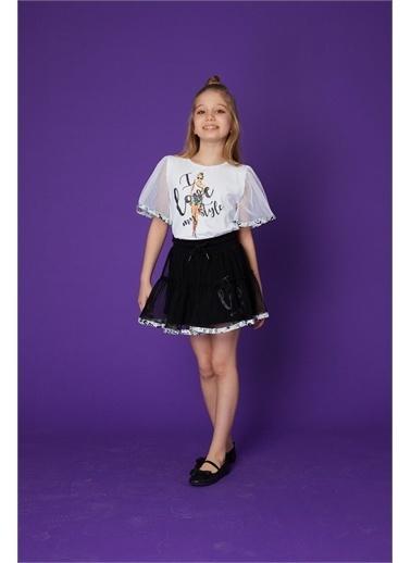 Little Star Little Star Kız Çocuk Tül Etek Siyah